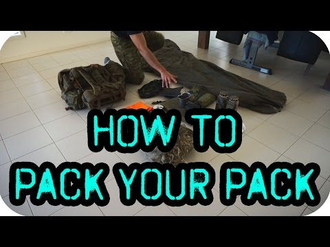 HOW TO: Pack Your Alice Pack