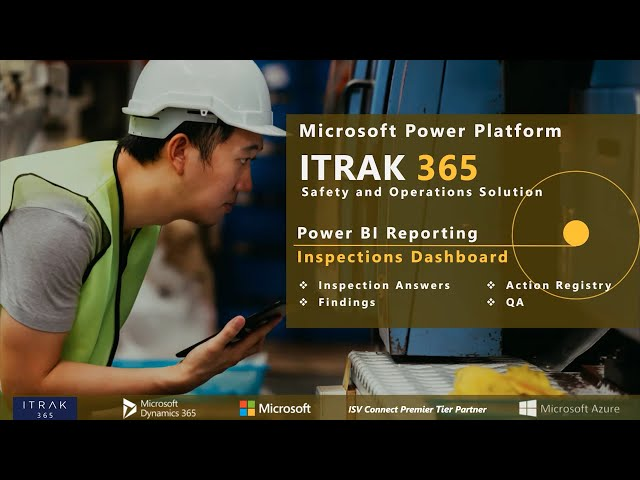 ITRAK Reporting: Inspection Dashboards