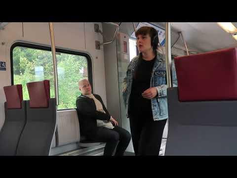 Helsinki Airport to Helsinki Central Station Train Ride 9 July 2019
