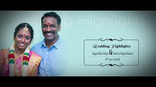 Studio Art Presents Wedding Highlights Of Jegantha Raja & Veera Rajeshwari