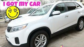 I got my new car yay!!| Vlog #26