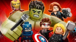Avengers age of ultron the musical (Lego edition)