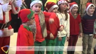 Avallon - Spectacle de Noël du périscolaire.