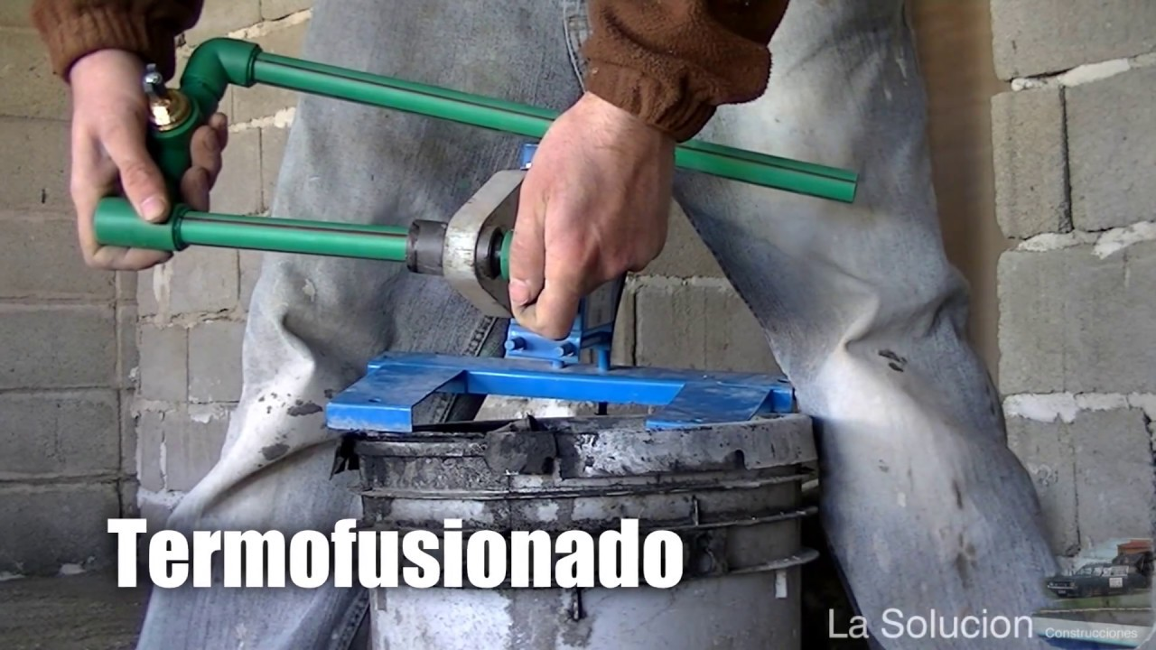 Termofusion para duchas viyoutube for Llave tubo para valvula de ducha