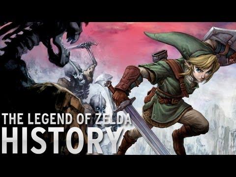 History of - The Legend of Zelda (1986-2013)