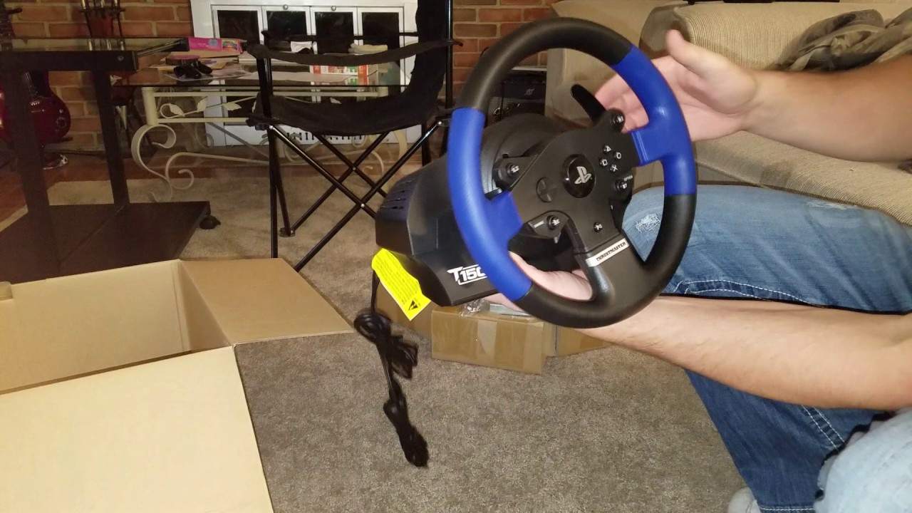 Thrustmaster T150 pro racing wheel PART 1