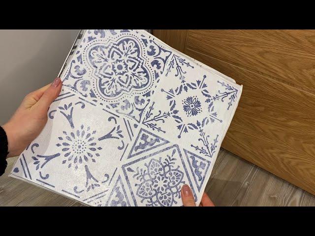 Order peel & stick floor tile samples online at Create Your World