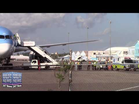Thomson Aircraft Diverts To Bermuda, June 23 2015