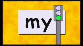 Reading Exercise. Educational video for Childen.  Two letter Words Part 2