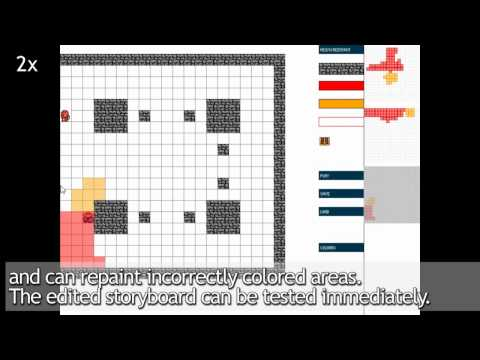 PaintBoard -- Prototyping Interactive Character Behaviors by Painting Storyboards