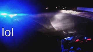 Motorcycle High Speed Police Chase Yamaha R6 Running From The Cops VS Bike Evades Cop Car 2016