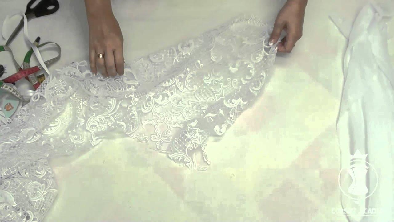 Как выкроить платье на корсете