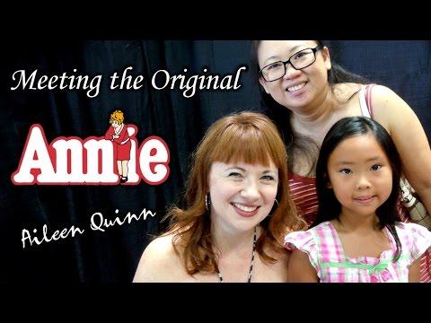 TTL Nerd  Meeting Aileen Quinn The Original Annie