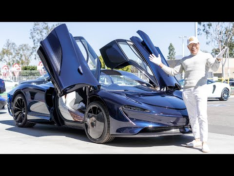 THE HERMES MCLAREN SPEEDTAIL IS FINALLY HERE! || Manny Khoshbin