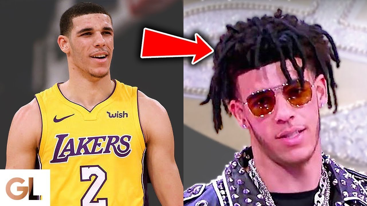 Lonzo Ball S Fake Dreadlocks Youtube