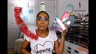 HAUL & CHAT 💕 INDIE BRANDS 💕 Sephora | Milani | Ace Beaute | Makeup Monsters | Makeup Addiction!