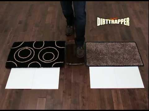 The Dirttrer Mat Doormat That Stops Dirt At Door Official