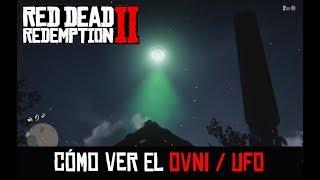 RED DEAD REDEMPTION 2 -CÓMO VER EL OVNI/UFO-