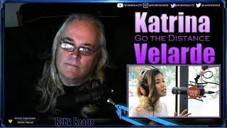 Katrina Velarde - First Time Hearing - Go the Distance - Requested Reaction WishBus Magic