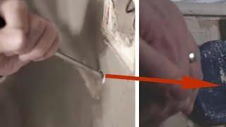 видео: Убираясь в доме родителей, дети обнаружили щель в стене. Это потрясающе!
