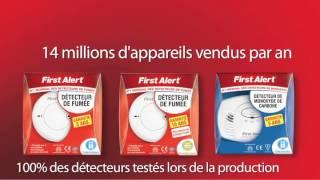 First Alert - Pourquoi s'équiper d'un détecteur de fumée?