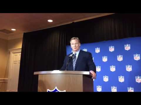 NFL Commissioner Roger Goodell Addresses Oakland Good Faith Dealing Problem With Raiders