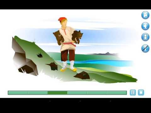 Видео Колобок сказка в обработке А.Н. Толстого