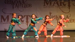 Детская хореографическая студия, Хореограф Елена Макарова, школа танцев МАРТЭ