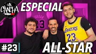 ESPECIAL ALL-STAR con DARIO EME HACHE y DEMAS6BASKET - La Cancha de NBA 2K Ep.23