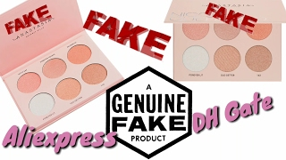 Fake nicole guerriero glow kit  by Anastasia Beverly hills  from aliexpress/dhgate