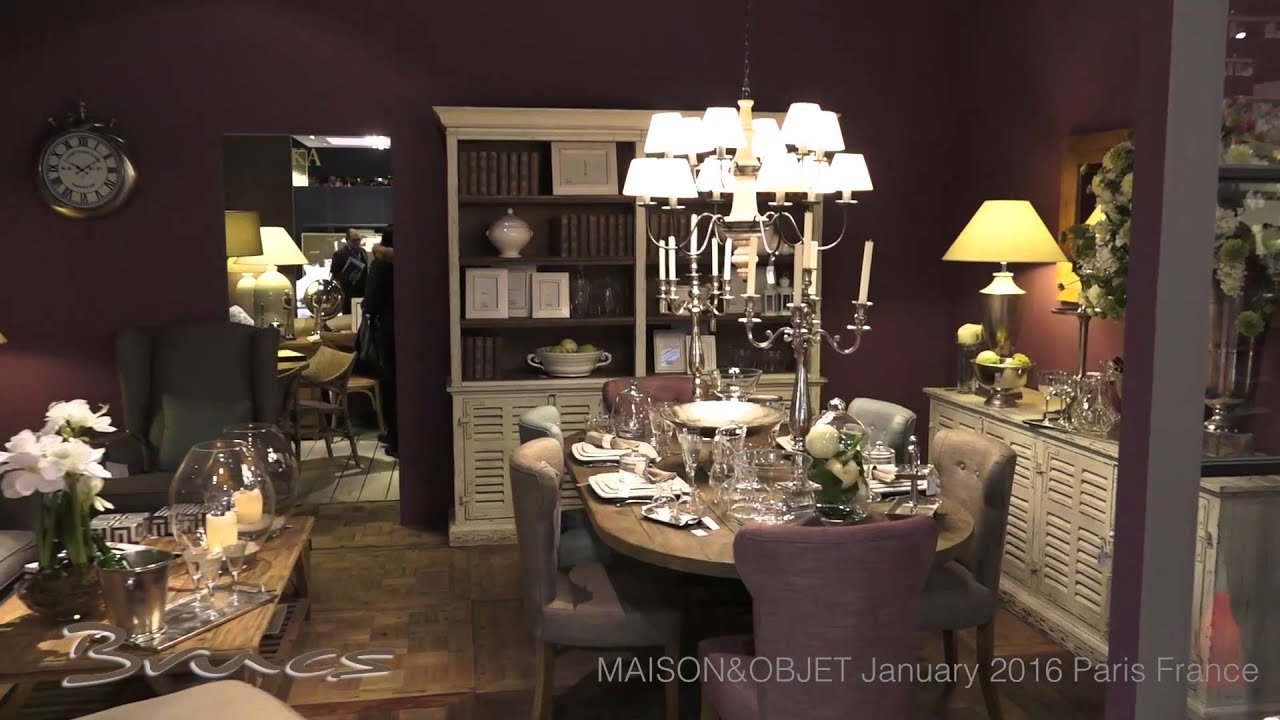 Brucs maison objet enero 2016 paris france youtube for Objets decoratifs maison
