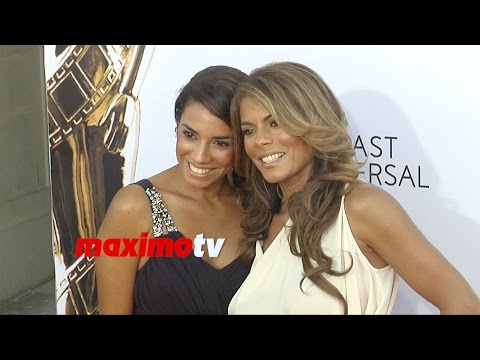 Lisa Vidal & Christina Vidal  2014 NCRL ALMA Awards  Red Carpet