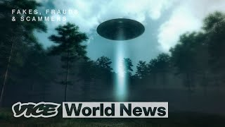 How We Staged a UFO Hoax   Fakes, Frauds and Scammers