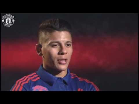 Entrevista con Marcos Rojo - Manchester United 2015 │HD