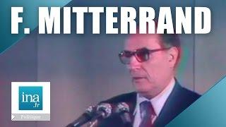 Elysée 81 : dernier meeting François Mitterrand