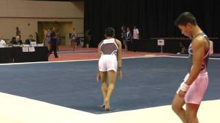 Yul Moldauer - Floor Exercise - 2015 Men's Junior Olympic Championships