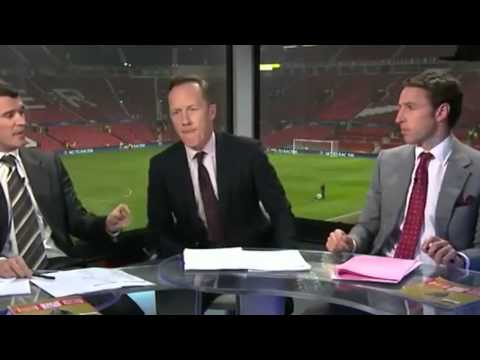 Funny Roy Keane argues with Gareth Southgate about Nani red