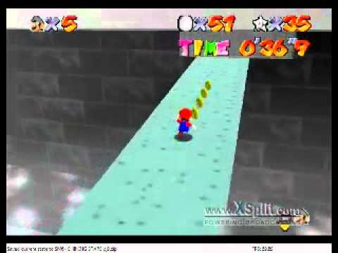 SM64 Shining Stars - Suffocating Moon Temple 100 coin idea (for 151 and 121)