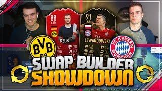 FIFA 19: DORTMUND vs BAYERN Swap Builder Showdown! 😳🔥