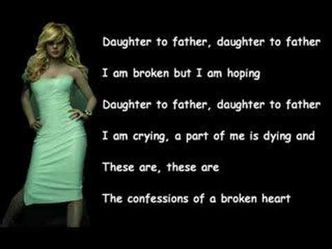 Confessions of a broken heart(karaoke)