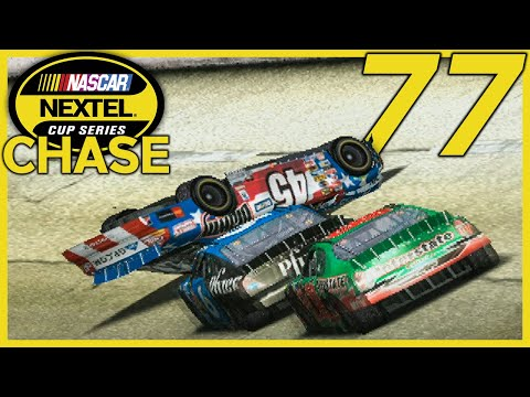NOT KYLE PETTY UP AND OVER | NASCAR 2005: Chase For The Cup Career Mode | Chase Race #3 | Talladega