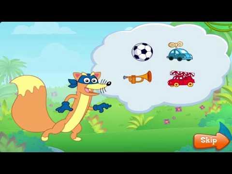 Swiper The Explorer - Dora Games - Nick Jr