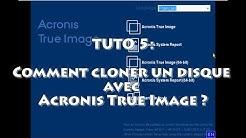 🔴 Comment cloner un HDD avec Acronis True Image ? TUTO #5