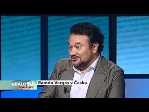 Ramón Vargas hostem pořadu Události, komentáře na ČT