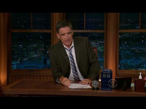 Late Late Show with Craig Ferguson 8/30/2011 Chi McBride, Ariel Tweto