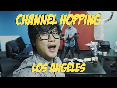 JinnyboyTV Hangouts - Channel Hopping in Los Angeles