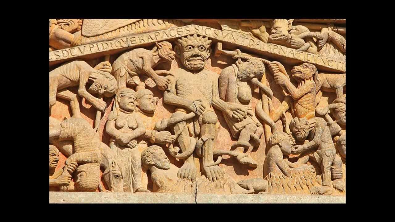 Le tympan de Sainte-Foy de Conques. - histoire-geo-ensemble.overblog.com
