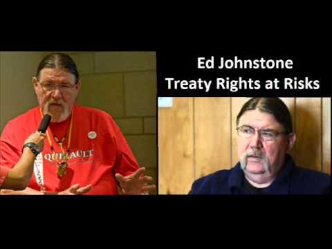 Ed Johnstone on Make No Bones About It.- Treaty Rights at Risk.