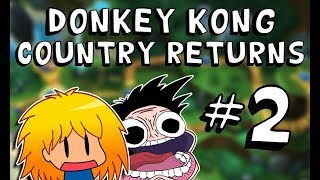 Axel Plays Donkey Kong Country Returns With Friends (PART 2)