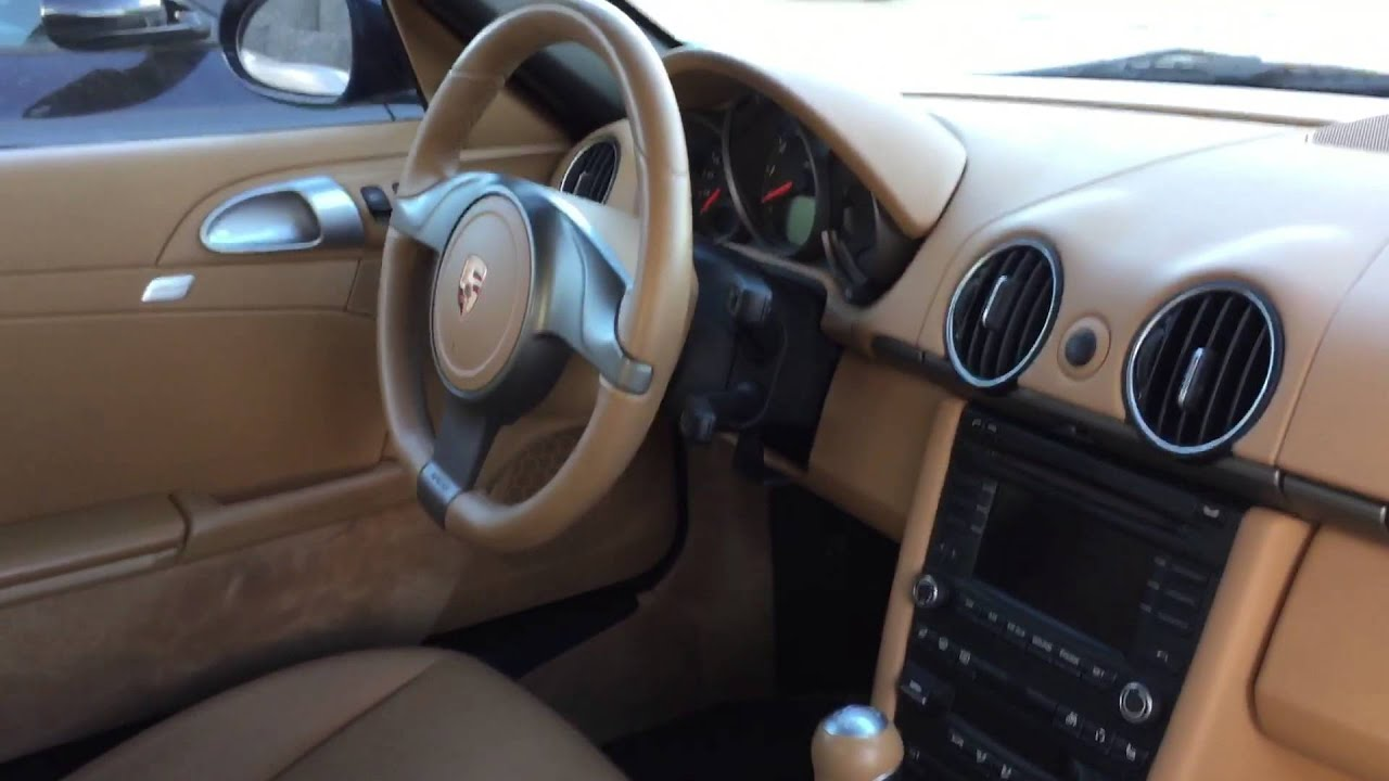 2010 Porsche Boxster Interior Photo Gallery